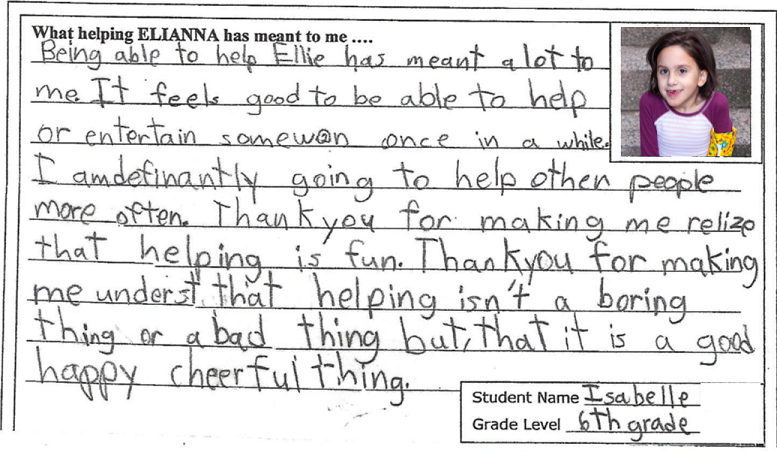 Success Story JacksonvilleElem.Elianna2